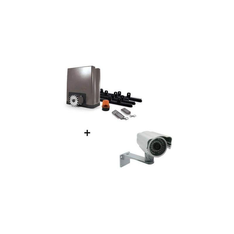 Avidsen - Motorisation pour portail coulissant PVC, bois, alu, acier - OREA 500