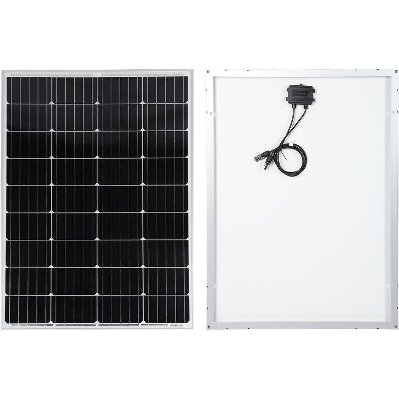 WILTEC Module solaire 150W Cellule monocristalline 18V 1480x680mm Verre protection