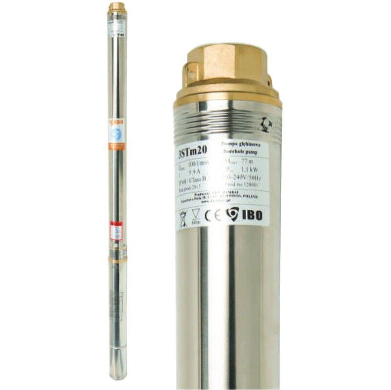 IBO Pompe immergée 3 STM 16, 100 l/min, 750W, 230V, résistance sable