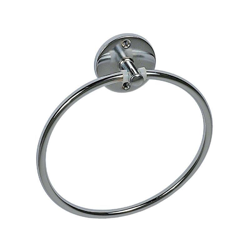 PELLET Porte-serviette - anneau acier chromé - Ø 220 mm - Pellet ASC
