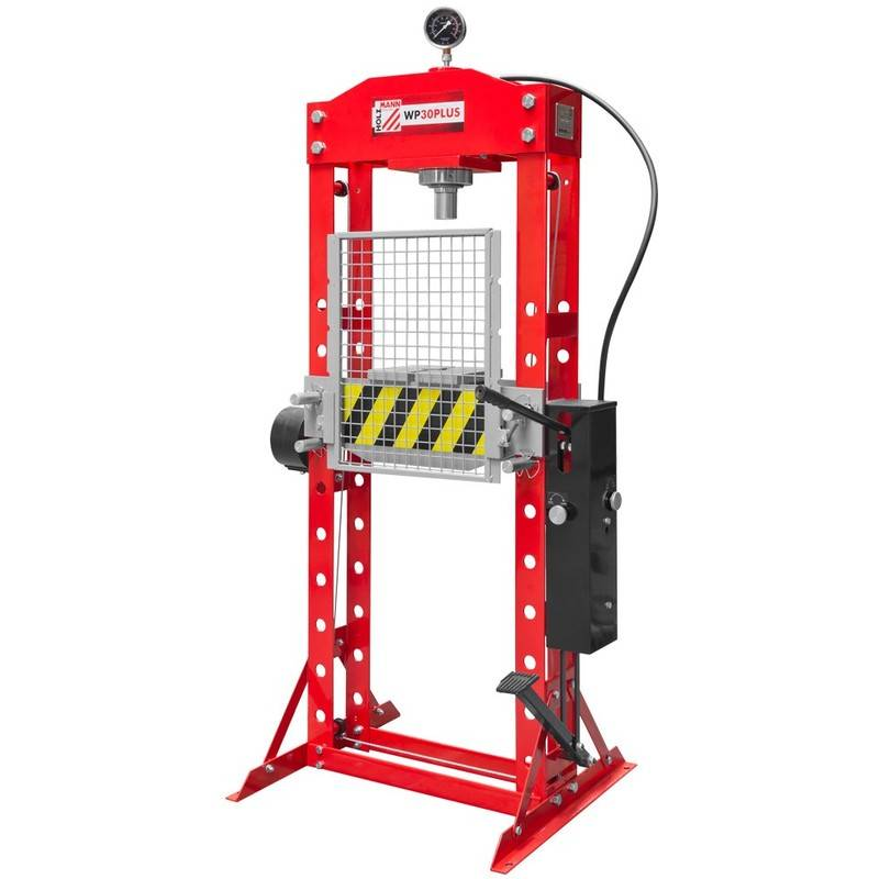 HOLZMANN Presse hydraulique d'atelier 30 tonnes WP30PLUS Holzmann