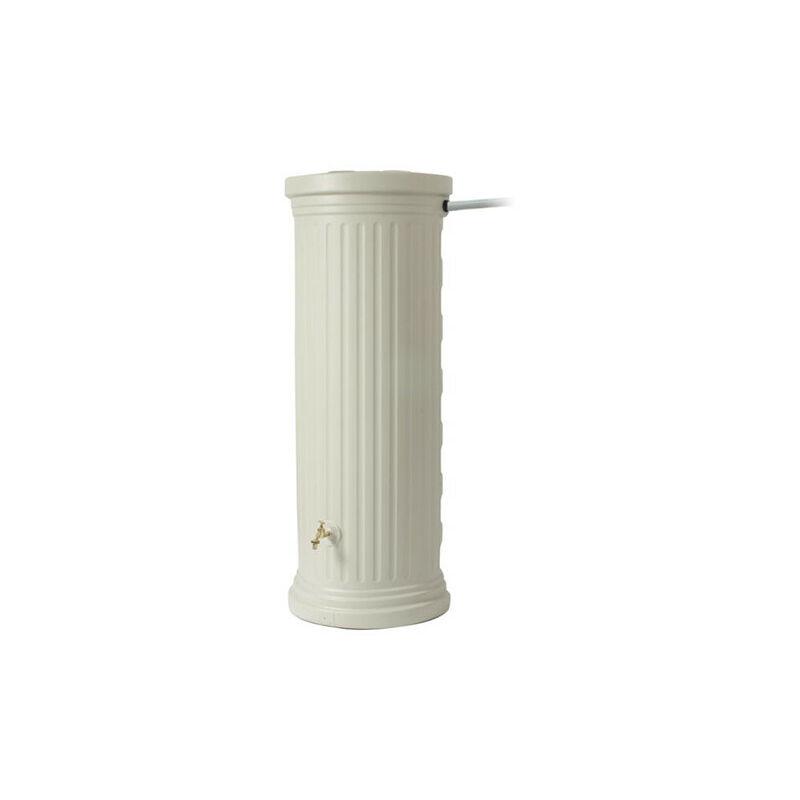 Garantia - Kit récupérateur d'eau colonne romaine 1000 L sable