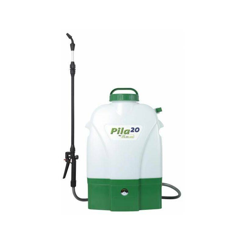 RIBIMEX pulvérisateur à dos 20l sur batterie - prp200de - ribiland
