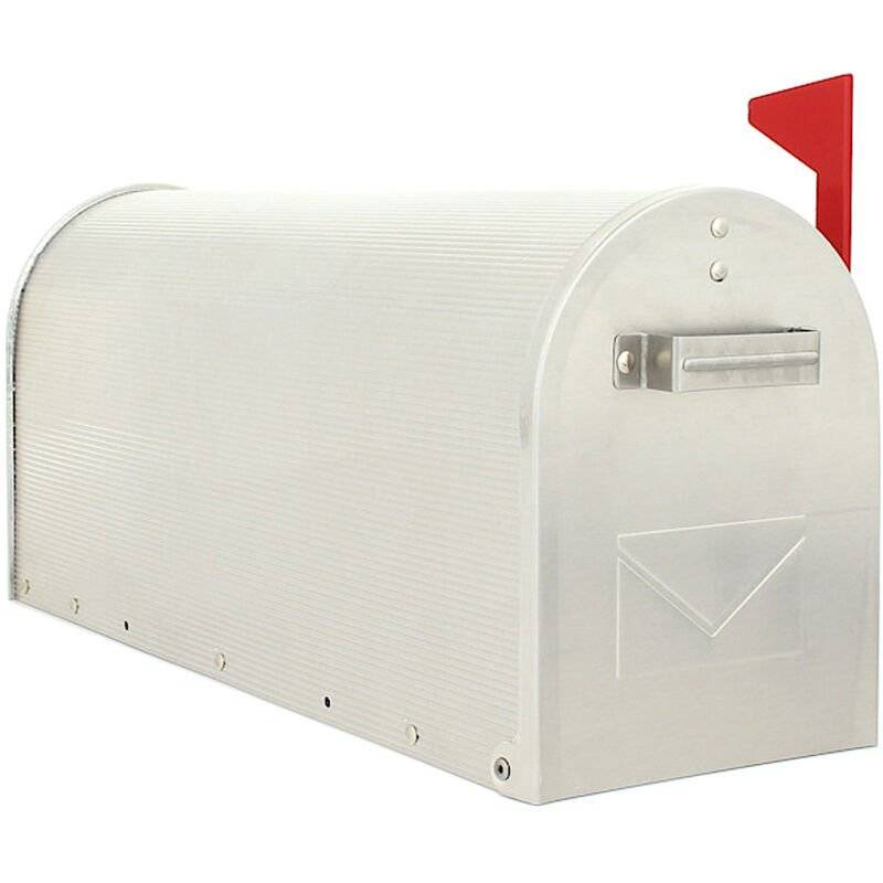 ROTTNER TRESOR Rottner Boîte aux lettres Mailbox Aluminium