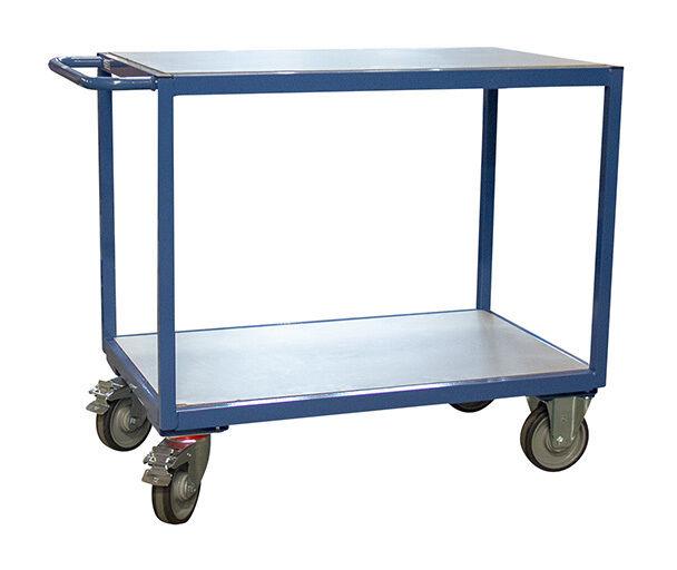 CHARIOT DE MANUTENTION - MATISERE Chariot De Manutention-matisere - D. Servante d'atelier 400kg - 3 plateaux en