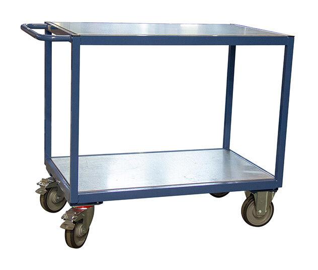 CHARIOT DE MANUTENTION - MATISERE Chariot De Manutention-matisere - B. Servante d'atelier 400kg - 3 plateaux en