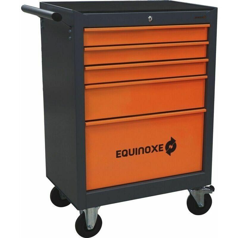 EQUINOXE Servante d'atelier 5 tiroirs Equinoxe