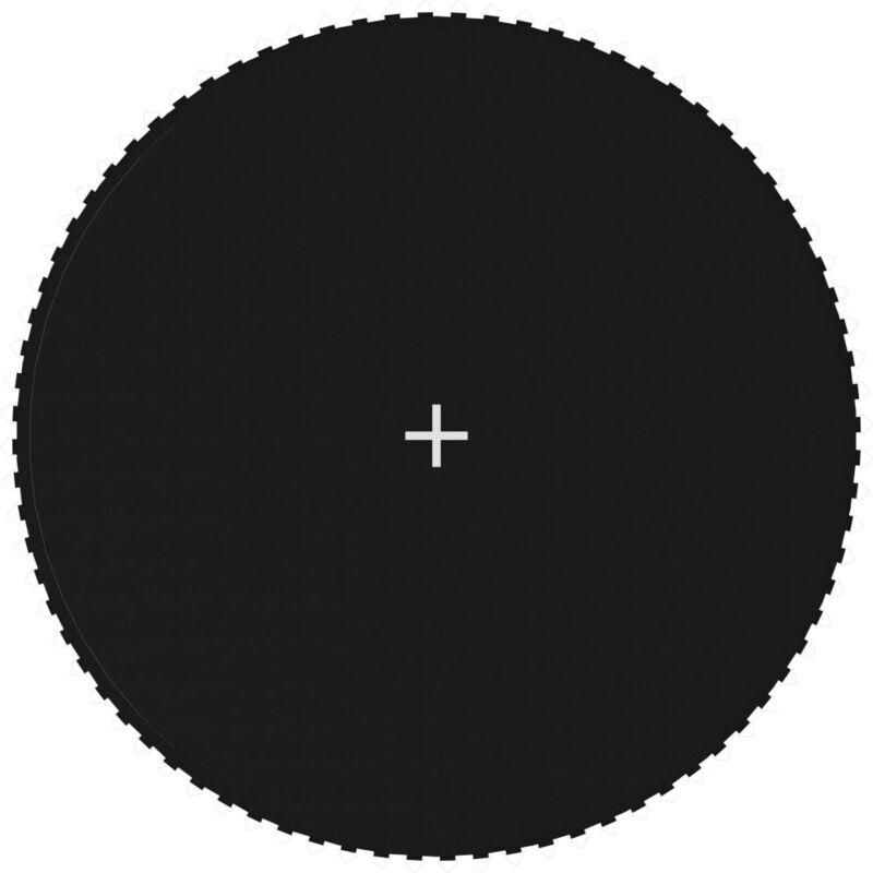 Youthup - Tapis de saut Tissu Noir pour trampoline rond de 4,27 m
