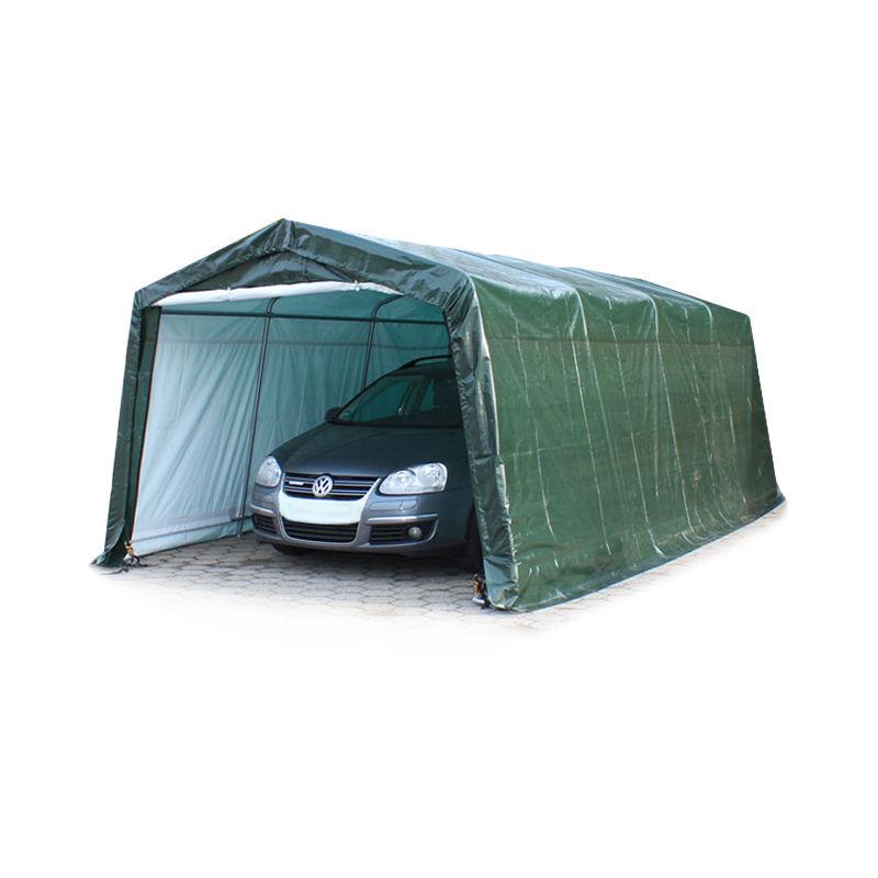 Intent24.fr - 3,3 x 6,2 m garage, abri de stockage, PE env. 260 g/m², tente