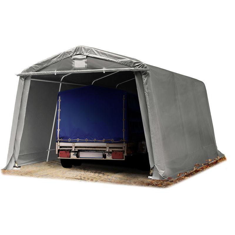 INTENT24.FR Abri/Tente garage PREMIUM 3,3 x 4,8 m pour voiture et bateau - toile PVC env.