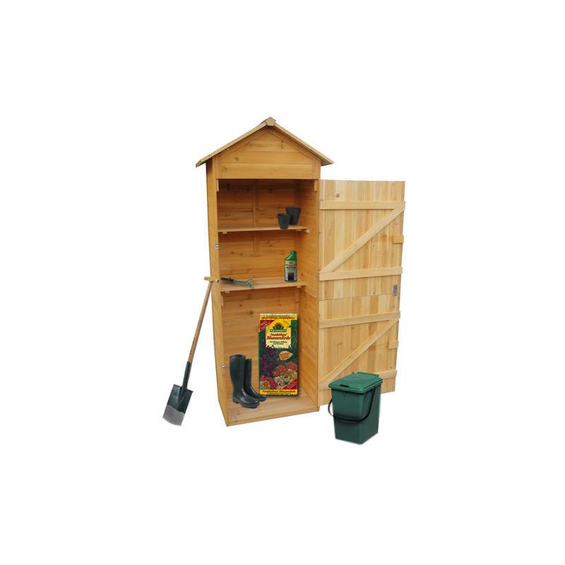 MUCOLA XL hangar à bois armoire, équipement abri de jardin outil