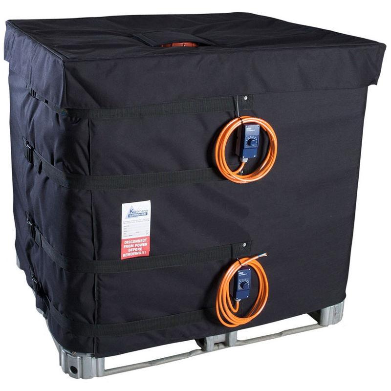 MULTITANKS Couverture chauffante pour cuve IBC - 230V - 2 x 1000W ( IBC 640L )