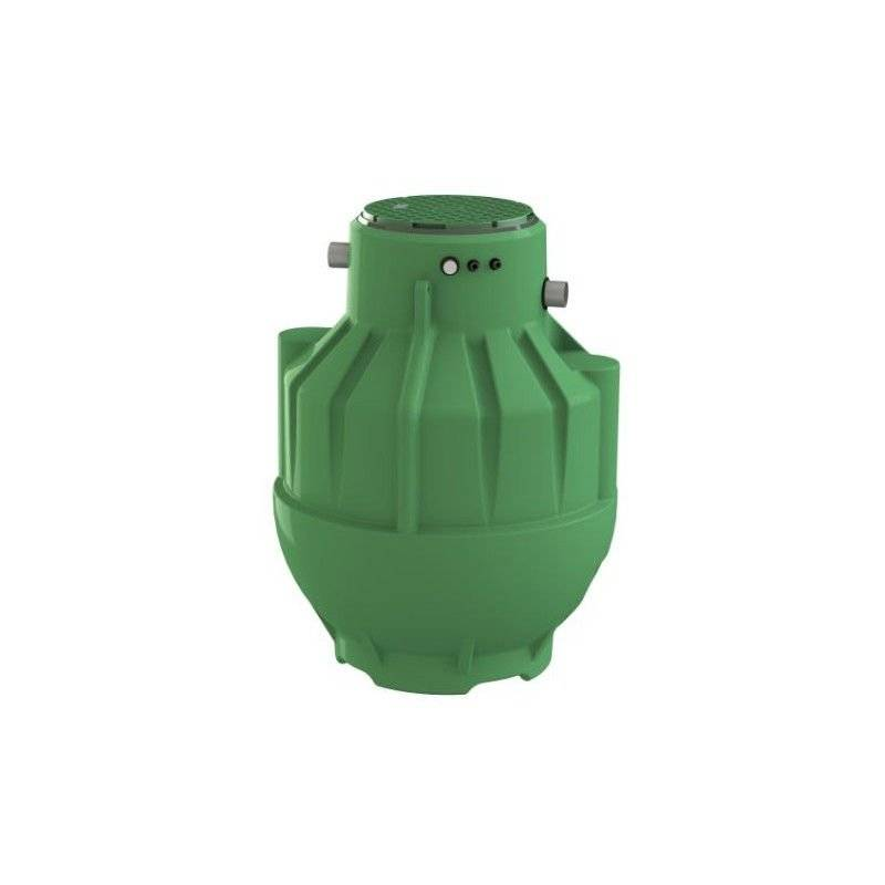 MULTITANKS Cuve récupération eau de pluie Ecociter pré équipée - 2000 L
