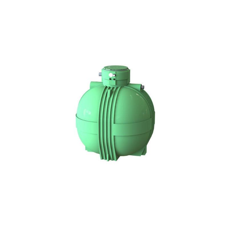 MULTITANKS Cuve récupération eau de pluie Ecociter pré équipée - 7000 L