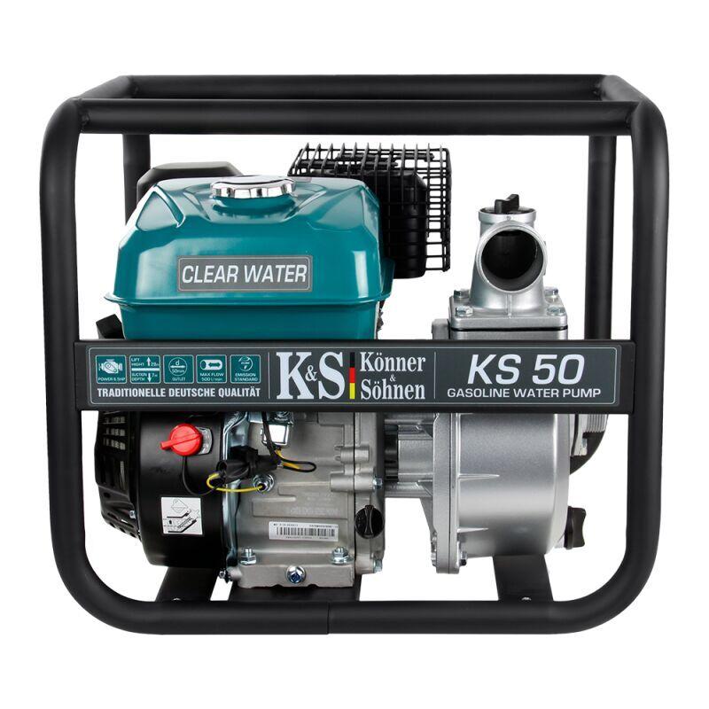 KÖNNER & SÖHNEN Könner&söhnen; - Konner & Sohnen Motopompe thermique KS50