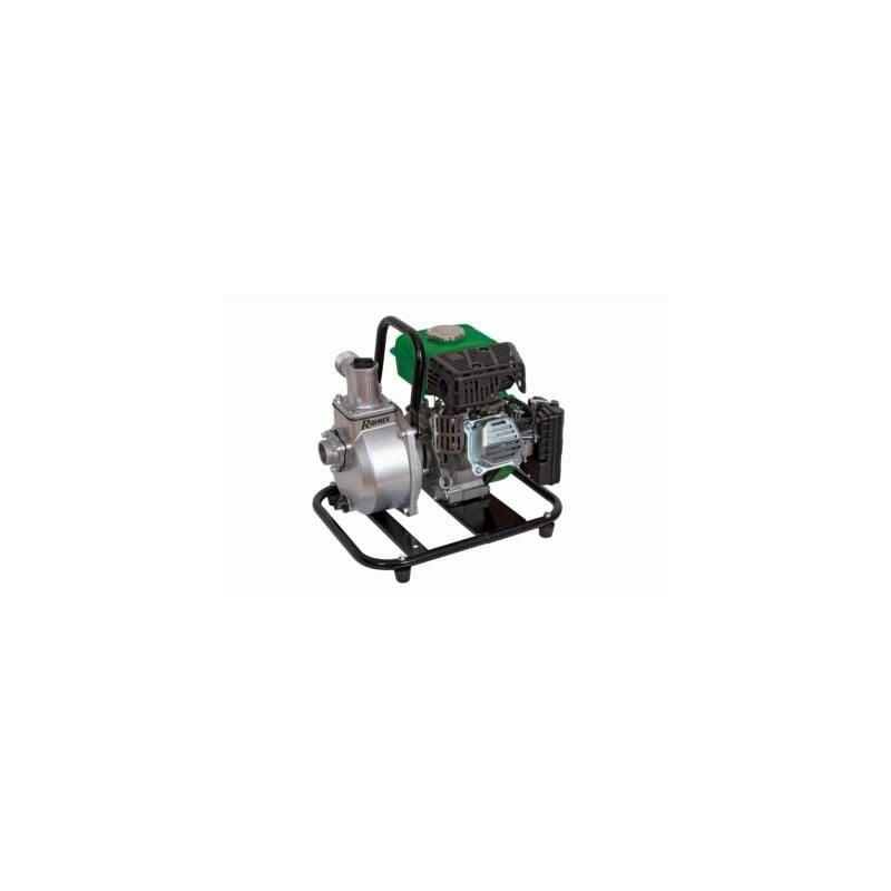 Heliotrade - Motopompe a eau thermique portable 63 cc 15000 litres heure