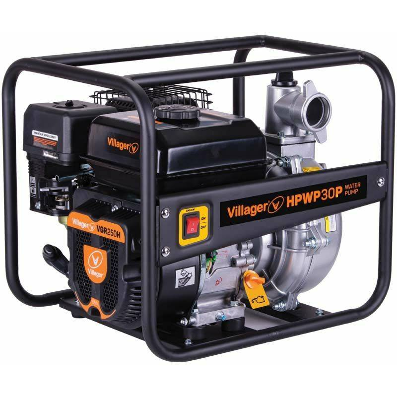 VILLAGER Motopompe thermique extrême pression 6,5 bars 212cc 30m3 heure HPWP30P