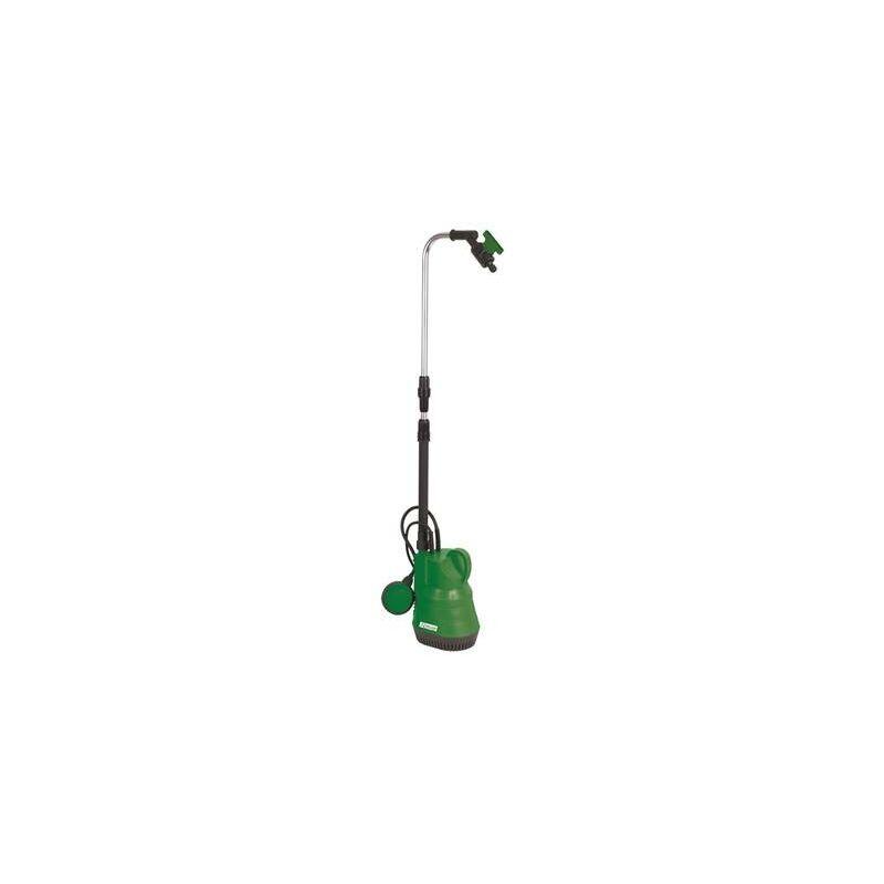Ribimex - Pompe pour recuperateur d'eau pluie 400W et arrosage avec vanne arret