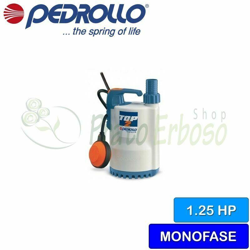 Pedrollo - TOP 5 - Pompe électrique de vidange de l'eau claire