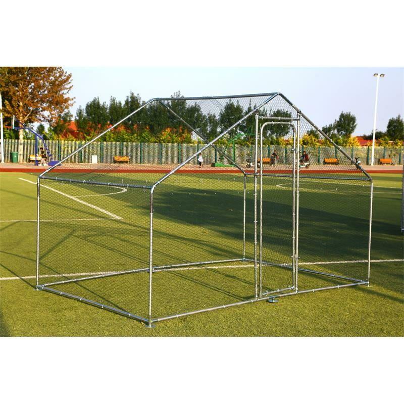 Estexo - Enclos extérieur Poulailler 3x4 m Enclos cage à poulet