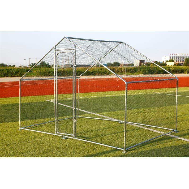 ESTEXO Enclos extérieur Poulailler 3x8 m Enclos cage à poulet