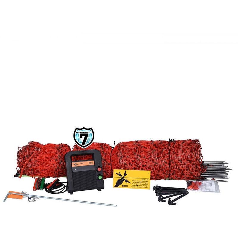 GALLAGHER Kit de clôture à oiseaux Gallagher professionnel composé d'un électrificateur,