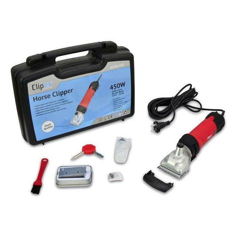 Clipex - Tondeuse Électrique pour Chevaux 450W Machine pour Tondre