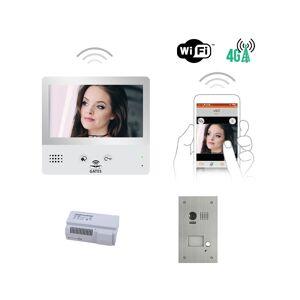 AUTOMATISME ONLINE KIT VIDEO AO WIFI 7 POUCES AVEC MÉMOIRE + CAMERA ENCASTREE - Automatisme Online - Publicité