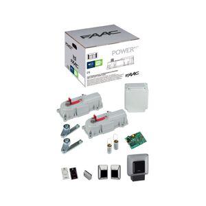 FAAC Kit Power Start Motorisation Pour Portails Battants 24V Faac - Faac - Publicité