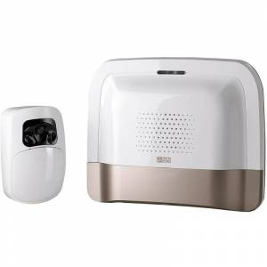 DELTA DORE Pack transmetteur domotique IP/GSM et détecteur vidéo Tyxal + - Blanc - Publicité