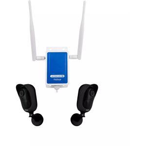 ULTRA SECURE Système UltraCAM 4G vidéosurveillance extérieur sur smartphone - 2 caméras - Publicité