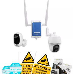 ULTRA SECURE Système UltraCAM 4G vidéosurveillance sur smartphone - kit extérieur 2 caméras - Publicité