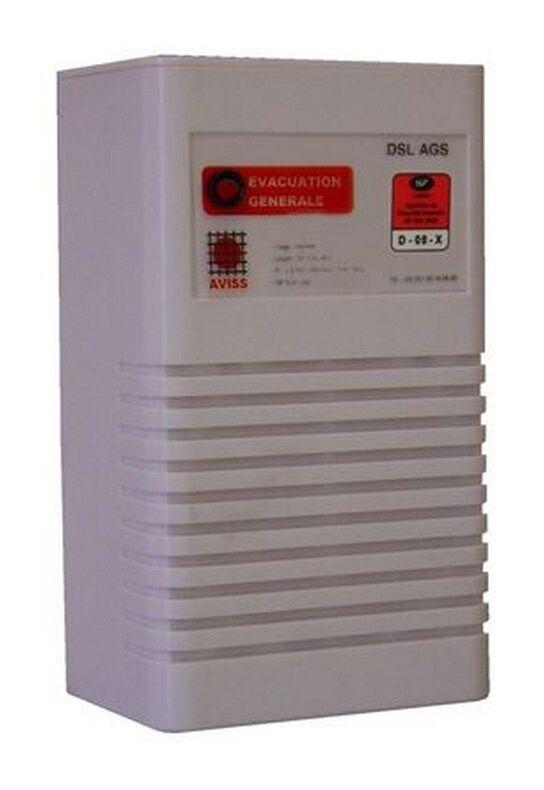 AVISS DSL AGS - Diffuseur D'alarme générale sélective