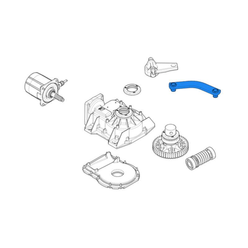 came pièce détachée du levier de transmission pour frog 119ria046