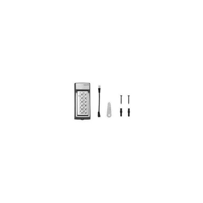 MARANTEC Command 222 Digicodeur sans fil 868 MHz 4 canal clavier métallique - 72873.