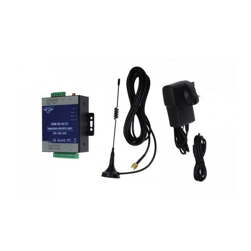ULTRA SECURE Commande à distance GSM relais par SMS - KP MON X4 3G transmetteur / contrôleur