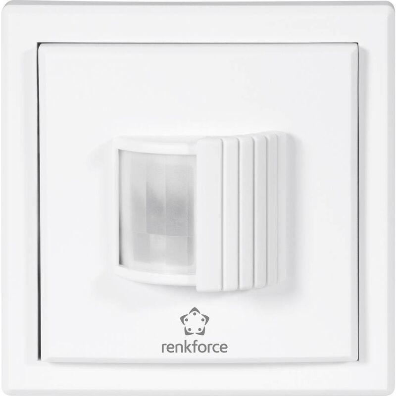 RENKFORCE Détecteur de mouvements RS2W 1270202 - Renkforce