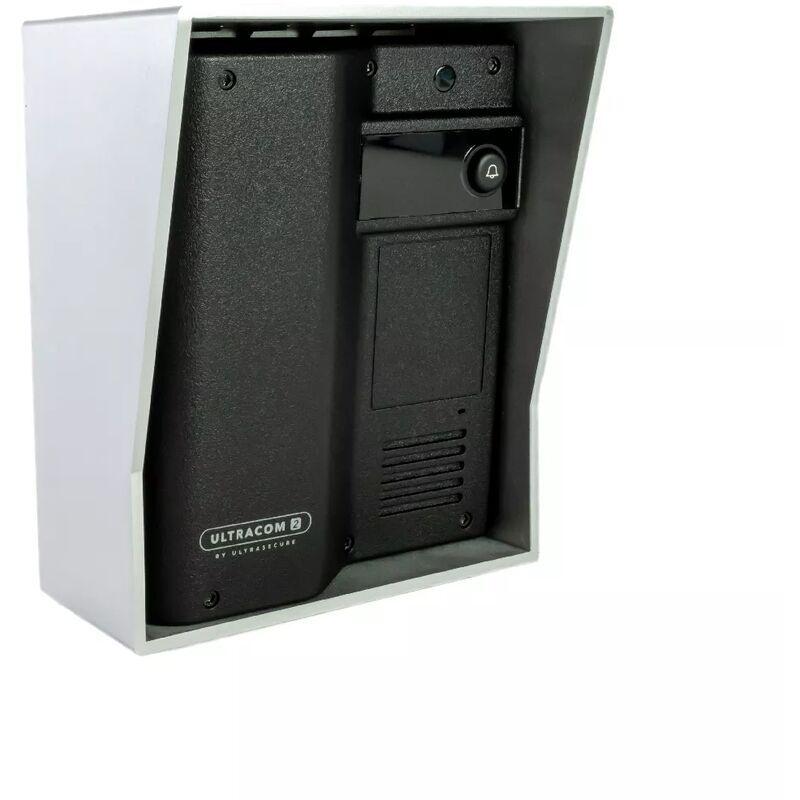 ULTRA SECURE Interphone 600 mètres autonome individuel sans-fil - UltraCOM2 NOIR 600-SOLO +