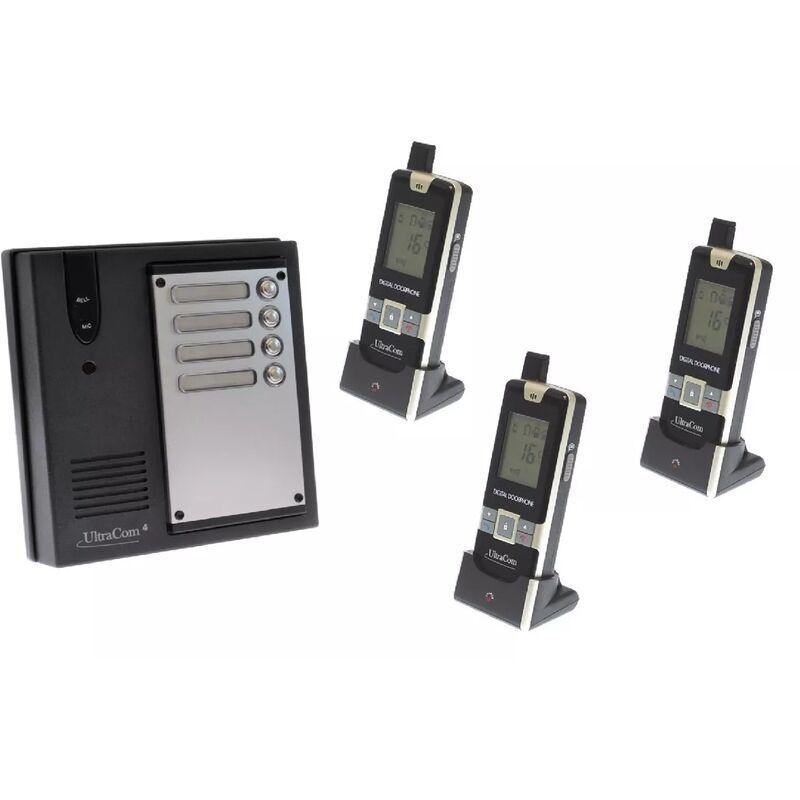 Ultra Secure - Interphone 600 mètres collectif longue portée sans-fil UltraCOM