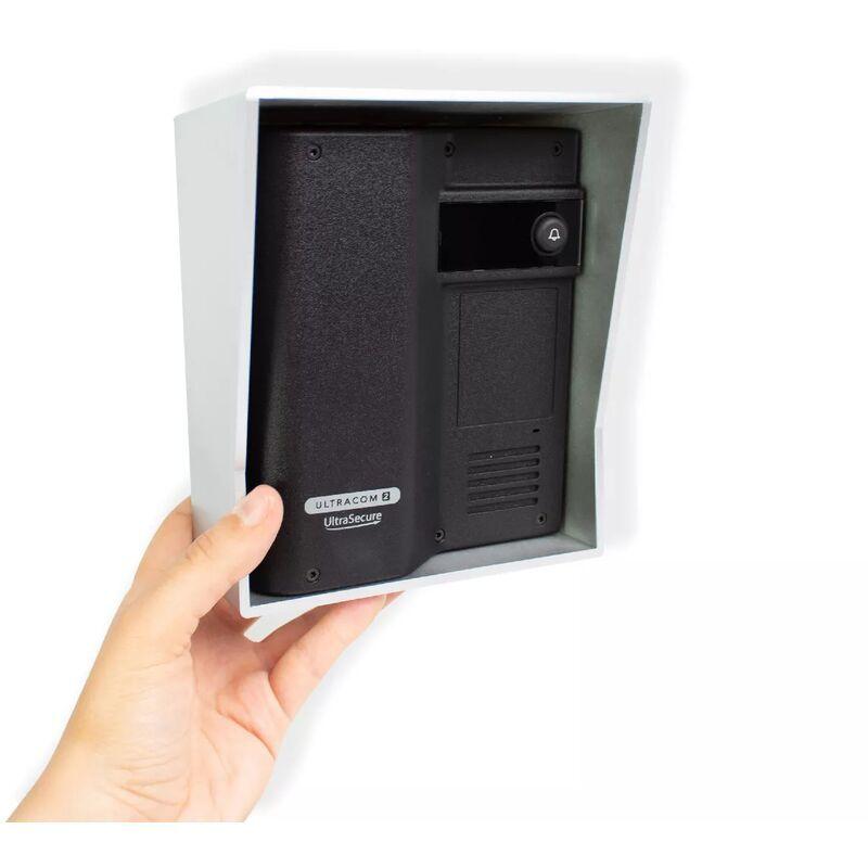 ULTRA SECURE Interphone 600 mètres individuel sans-fil - UltraCOM2 NOIR 600-SOLO visière