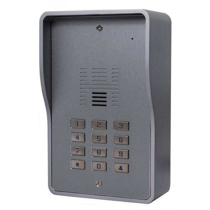 Ultra Secure - Interphone collectif GSM 3G anti-vandale 200 appartements