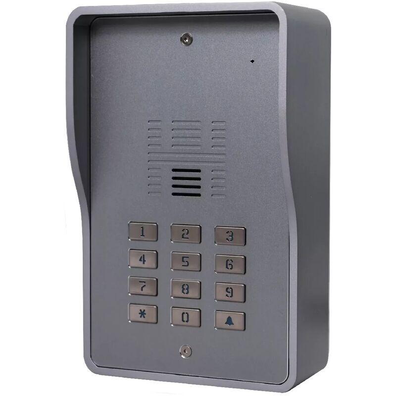 ULTRA SECURE Interphone collectif GSM 4G anti-vandale 200 appartements - Déverrouillage