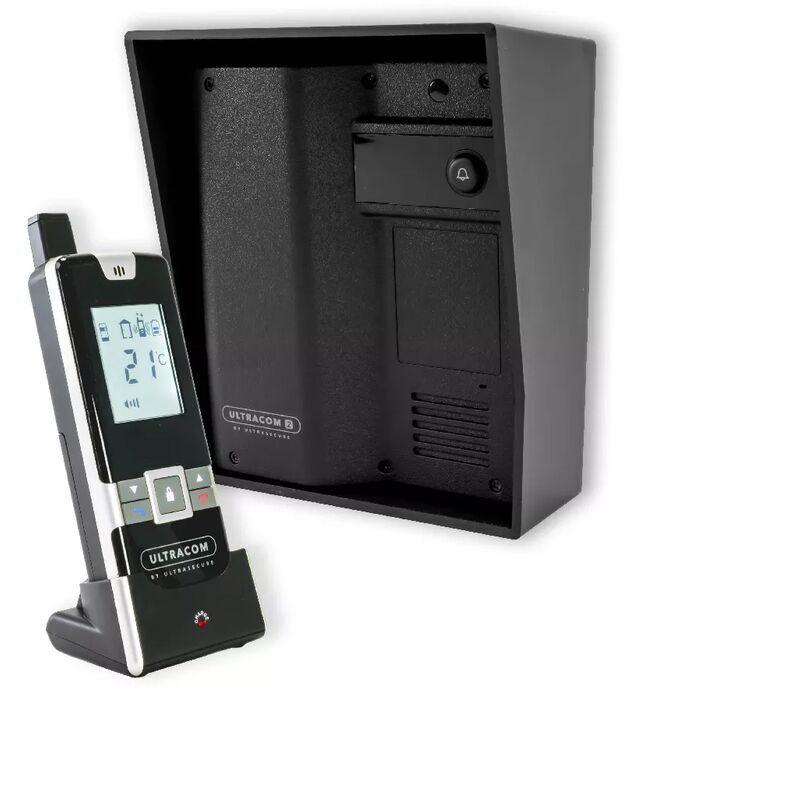 Ultra Secure - Interphone Drive - 100% sans-fil autonome sur piles 600m longue