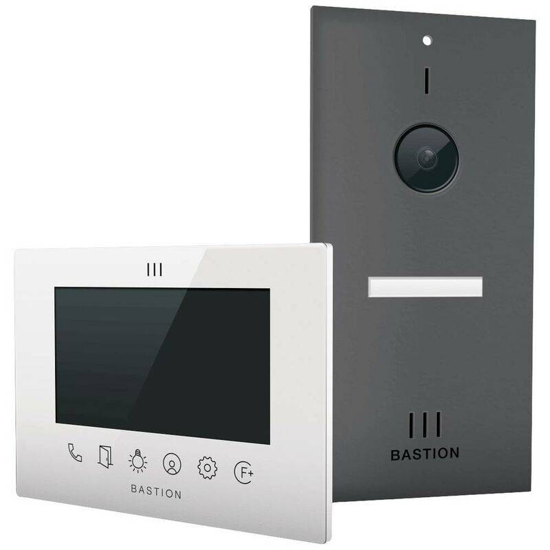 BASTION Interphone vidéo Bastion BA.KIT.UN.ANT.WHT BA.KIT.UN.ANT.WHT Ethernet Station