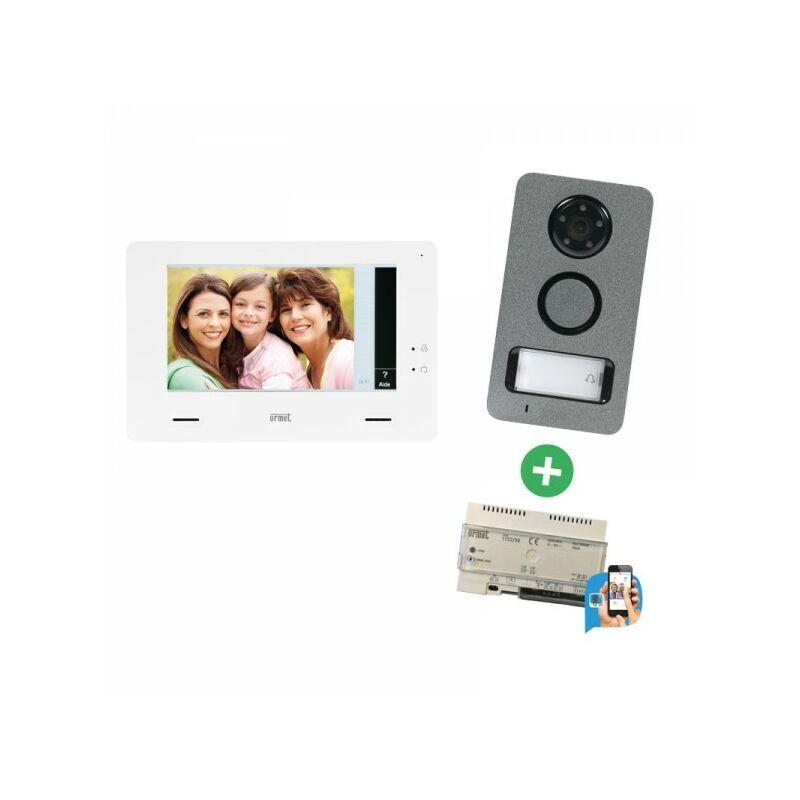 URMET Interphone video KIT MINI NOTE Callme - 1722/85W - Urmet