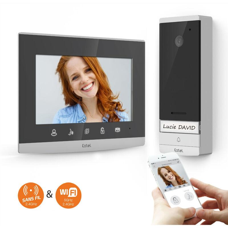 EXTEL Kit WAVE 720313 Visiophone sans fil connecté EXTEL - EXTEL