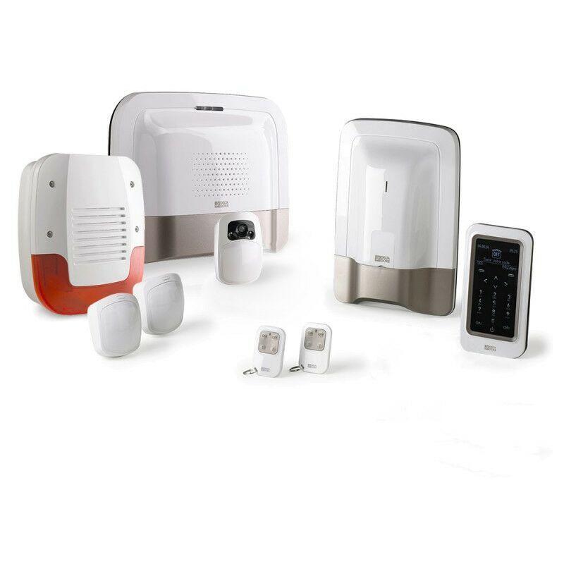 DELTA DORE Alarme sans fil GSM Delta Dore Pack alarme Tyxal + PROMO VIDEO - Blanc