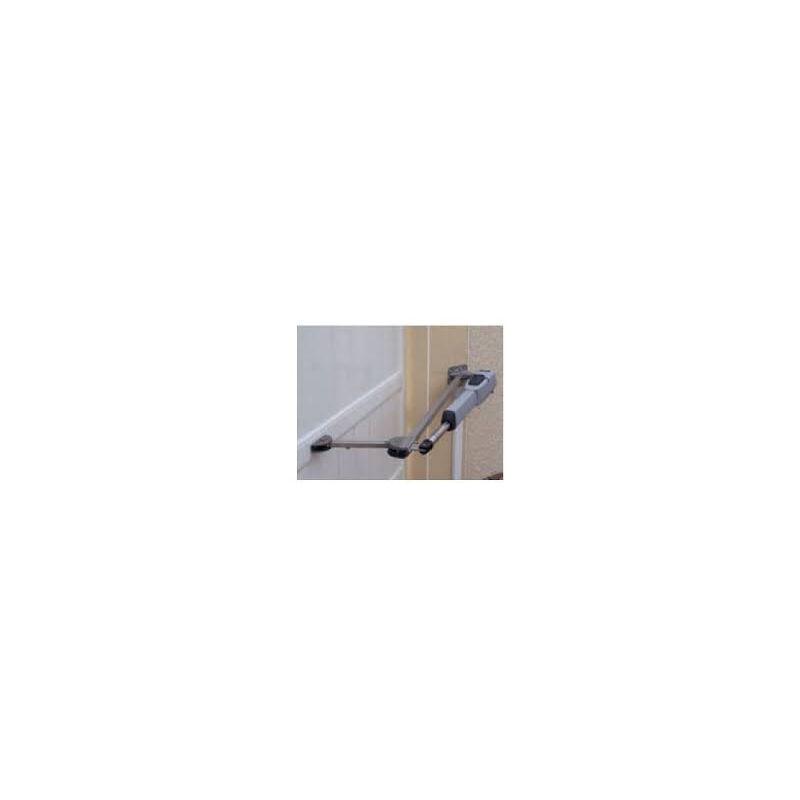 FAAC PANTOGRAPHE INOX 130 150 OP 400 Adaptateur portail battant FAAC - FAAC