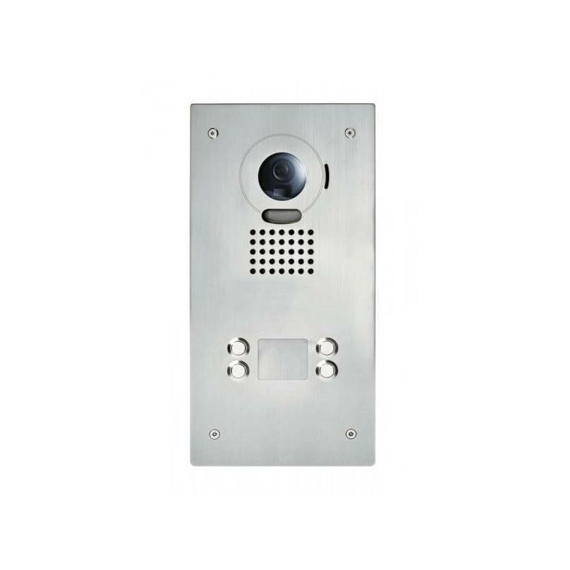AIPHONE Platine de rue JO4DVF pour portier vidéo AIPHONE - encastrée - 130406