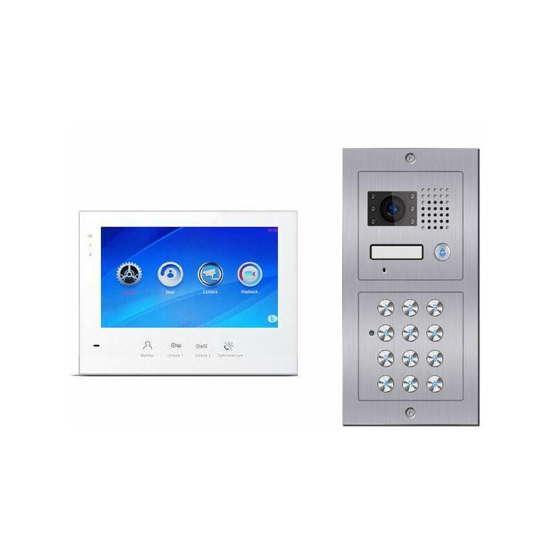 Evoya - Portier vidéo digicode C601-B